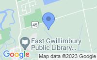 Map of East Gwillimbury ON