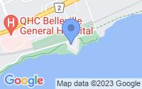 Map of Belleville ON