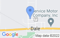 Map of Dale WI
