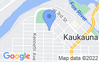 Map of Kaukauna WI