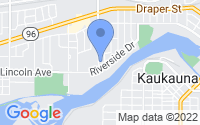 Map of Kaukauna WI