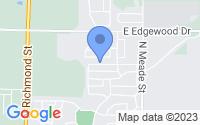 Map of Appleton WI