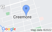 Map of Creemore ON