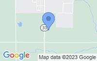 Map of Rose City MI