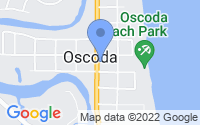 Map of Oscoda MI