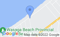 Map of Wasaga Beach ON