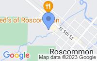 Map of Roscommon MI