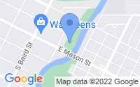 Map of Green Bay WI