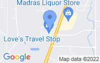 Map of Madras OR