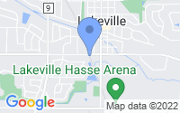 Map of Lakeville MN