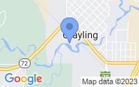 Map of Grayling MI