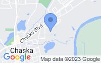 Map of Chaska MN