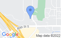 Map of Cottage Grove MN