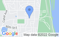 Map of Inver Grove Heights MN