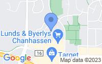 Map of Chanhassen MN