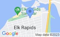 Map of Elk Rapids MI