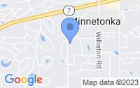 Map of Minnetonka MN
