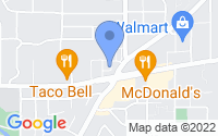 Map of Dallas OR