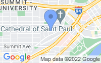 Map of Saint Paul MN