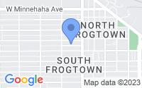 Map of Saint Paul MN