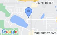 Map of Roseville MN