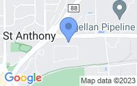 Map of Saint Anthony MN