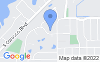 Map of Roseville MN