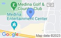 Map of Medina MN