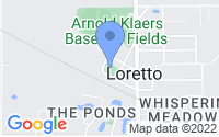 Map of Loretto MN