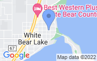 Map of White Bear Lake MN