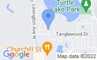 Map of Shoreview MN