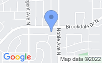Map of Brooklyn Park MN