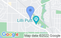 Map of Coon Rapids MN