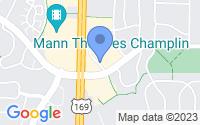 Map of Champlin MN