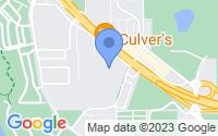 Map of Anoka MN