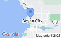 Map of Boyne City MI