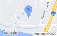 Map of Forest Lake MN