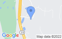 Map of Spicer MN