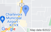 Map of Charlevoix MI