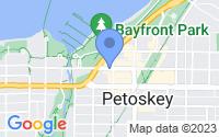 Map of Petoskey MI