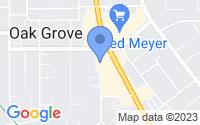 Map of Oak Grove OR