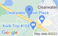 Map of Clearwater MN