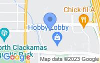Map of Clackamas OR