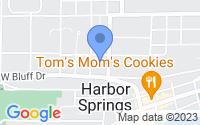 Map of Harbor Springs MI