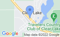 Map of Clear Lake MN