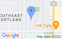 Map of Portland OR