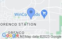 Map of Hillsboro OR