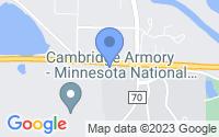 Map of Cambridge MN