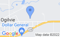 Map of Ogilvie MN