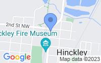 Map of Hinckley MN